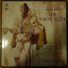 SAX 2369-72 Mozart Don Giovani / Wachter etc. Giulini / PhilH 4 LP box