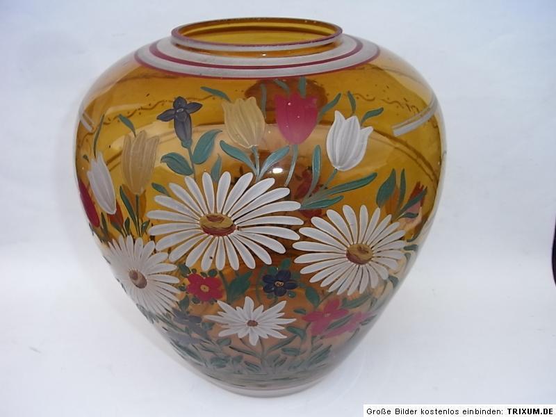 ART DECO magaretten Vase tulipes Glasvase au mariage