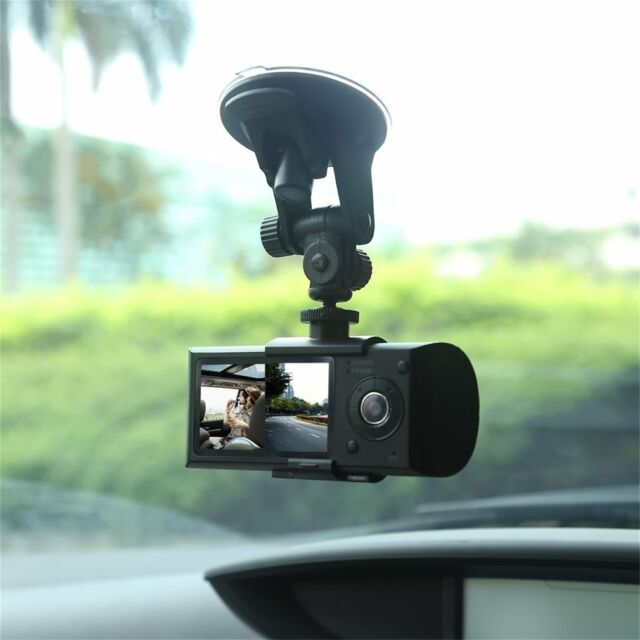 Dual Lens GPS Camera HD Car DVR Dash Cam Video Recorder Night Vision G-Sensor MX