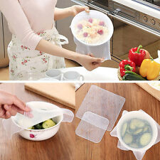 Magic Reusable Silicone Wrap Seal Vacuum Food Fresh Wrap Kitchen Supplies Size S