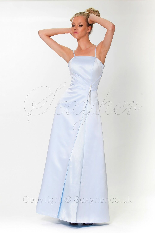 Elegant and Classic A-shape Bridesmaid Prom Dress Evening Dress ED6024