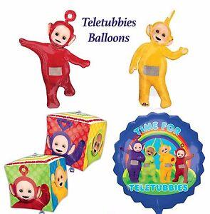 teletubbies foil balloons birthday supplies po