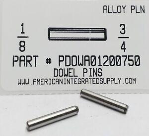 1//8x3//4 L PK100 Alloy STL Dowel Pin