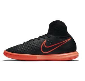 Nike-JR-MagistaX-Proximo-II-Indoor-Cleats-Size-4-5Y-843955-084-Hyper-Orange