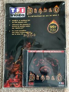 BRAND-NEW-French-Original-Diablo-1-PC-Factory-Sealed-Rare-Collectors-Item-France