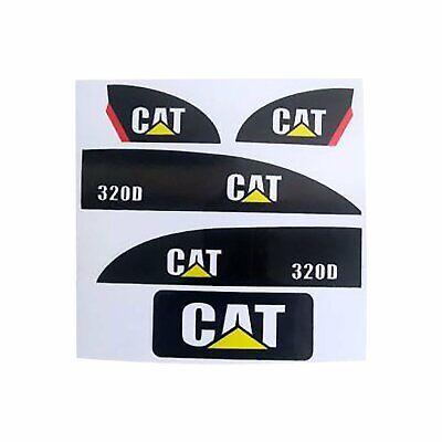Autocollant Set pour Huina 550 15 canaux de contrôle radio jouet pelle Amewi 1:14 Cat decals