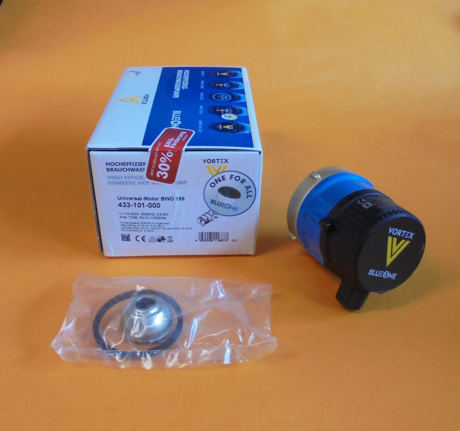Vortex Blauone Zirkulationspumpe Ersatz Motor für BWO 155 ( 9084082 )