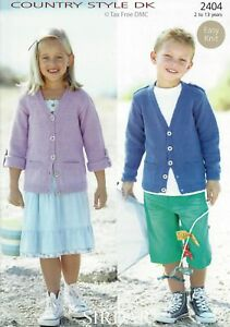Vat Free Knitting Pattern Only To Make Childrens Cardigans Cardies