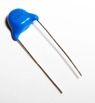 Condensatore Ceramico  1nF 1000pF 10kV THT 10mm