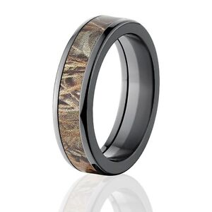Image Is Loading Max 4 Realtree Camo Rings Camouflage Wedding