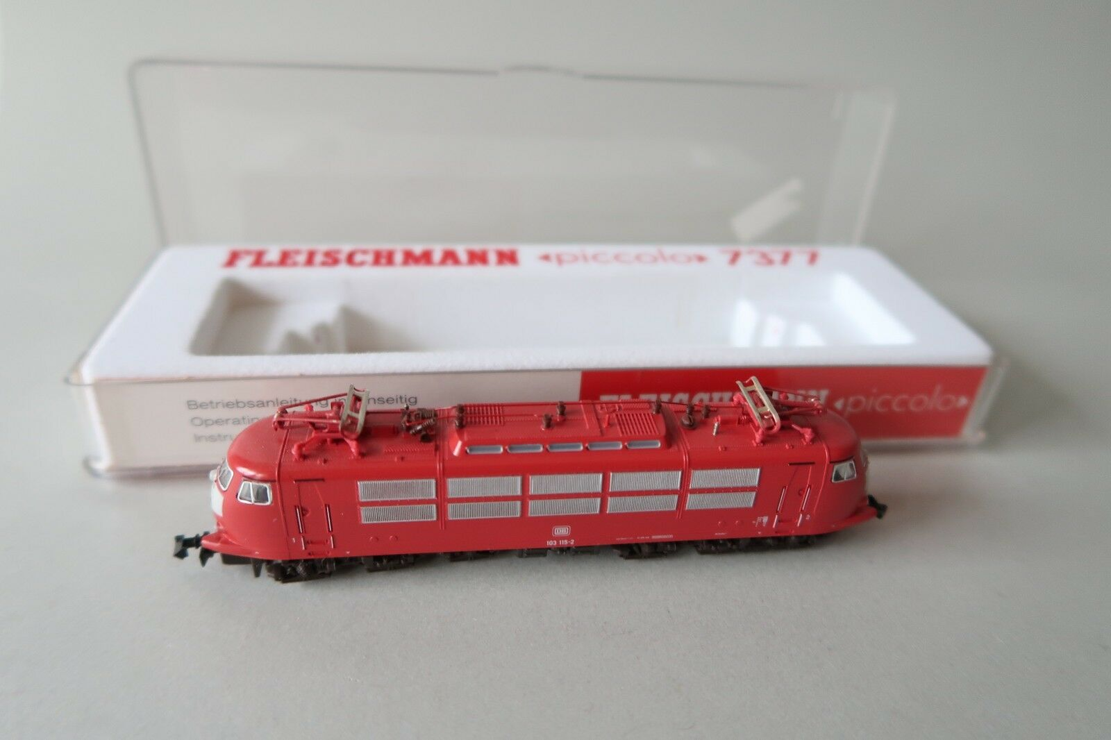 de moda Fleischmann n 7377 e-Lok br 103 115-2 DB (dv009-62s5 1) 1) 1)  compra en línea hoy