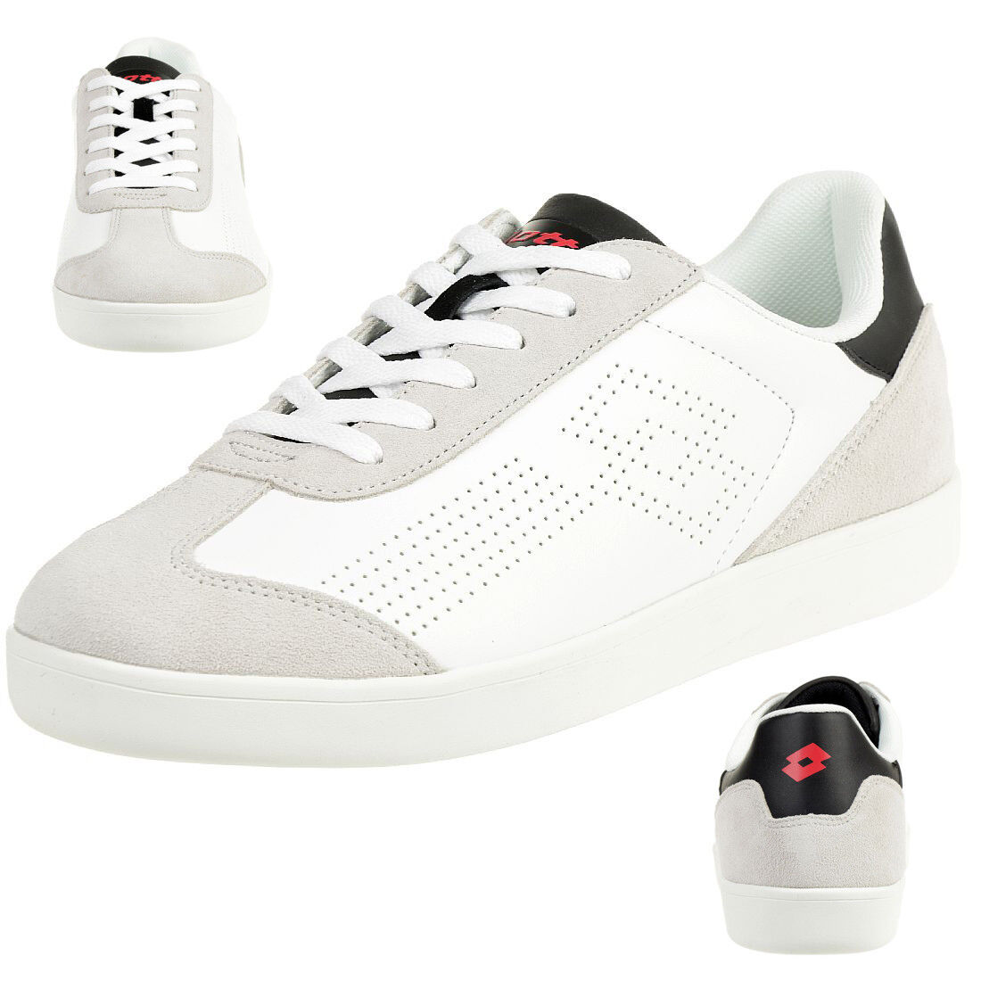 Lotto Trophy Lth Men's Sneakers T7148 Leather White