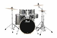 Drums Sets Pearl Export 5 Pc Drum Set With 830 Hardware Pack Grindstone Sparkle