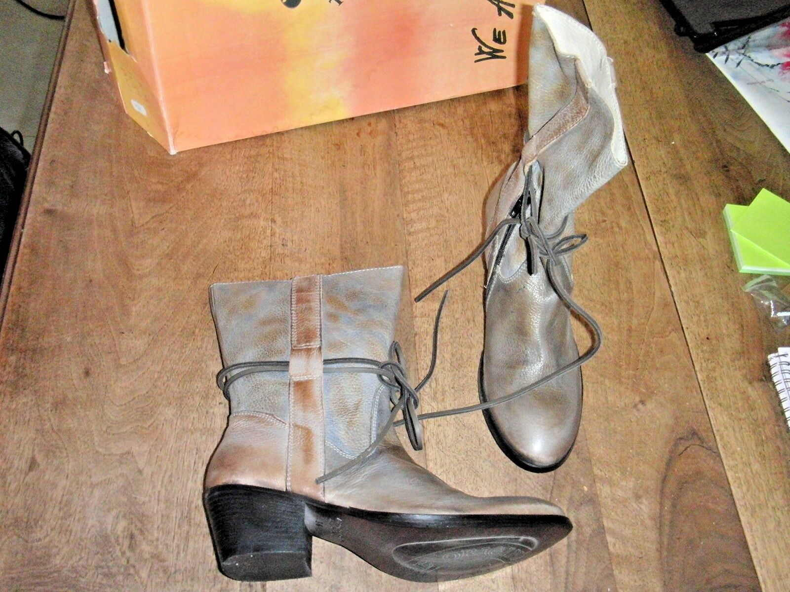 WE ARE Boots Bloom face lead NEW Heel Heel Heel 6cm Value 189E Sizes 36,37,40 36fe8c