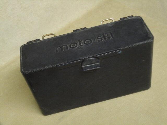 Vintage Original MOTO-SKI Snowmobile 1960-70's Accessory Toolbox