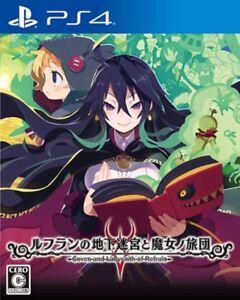 Refrain-Chika-Meikyuu-to-Majo-no-Ryodan-SONY-PS4-PLAYSTATION-4-JAPANESE-VERSION