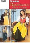 Simplicity Sewing Pattern 5582 P5 Misses Costumes