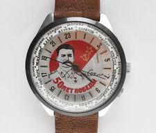RAKETA PAKETA, orologio Sovietico movimento meccanico con fusi orari, anni '90