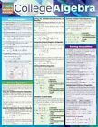 College Algebra 9781423220312 by BarCharts Inc Poster