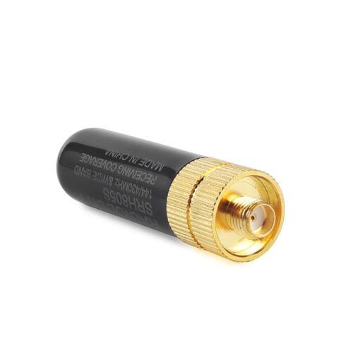 Radioddity SRH805S 136-174//400-520MHz SMA-F Antenna for Kenwood UV-5R BF-888s 5R
