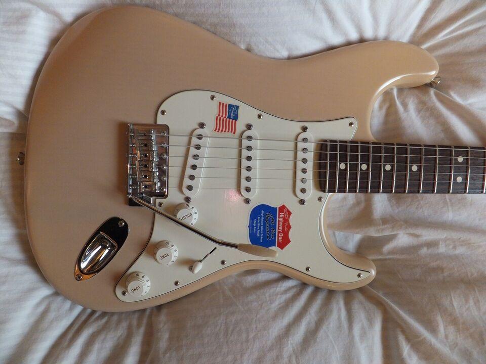 """Elguitar, Fender (US) Highway One """"Weekend Tilbud"""""""