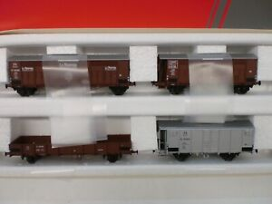 Acme Ho 45104 - Set 4 Wagons de fret avec train de roulement Ep Ii