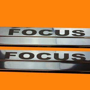 410108-BRILLANT-2-LES-SEUILS-DE-PORTE-CONVIENT-POUR-FORD-FOCUS-MK2-MK-2-FOCUS