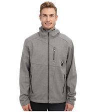 Spyder Men's Patsch Novelty Hooded GT Softshell  Ski Jacket, Size S, NWT