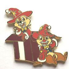 Disney Pin Badge DLP - Chip & Dale Christmas Noel