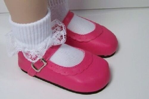 """DK PINK Classic Doll Shoes Fits 23/"""" My Twinn Poseable Debs"""
