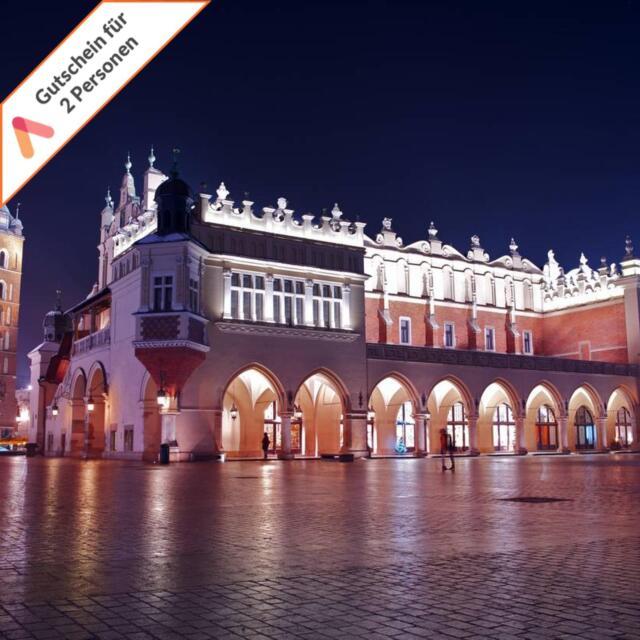 Krakau 4 Sterne Hotel Symposjum 4 Tage 2 Personen Städtereise Kurzreise