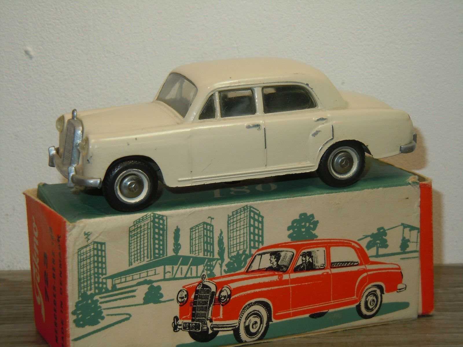 Mercedes 180 Saloon - Tekno 723 Denmark in Box 36315