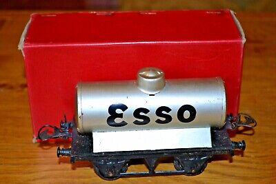 "Vintage Boxed Hornby Series Meccano O Gauge No.1 Petrol Tank Wagon ""esso"""