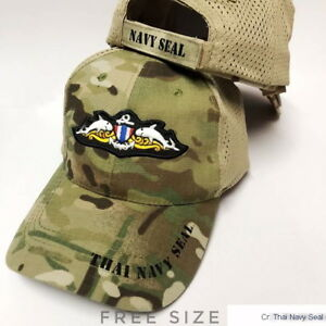ed73b793ee1 Image is loading Thai-Navy-Seal-Cap-Hat-Baseball-Military-Seals-