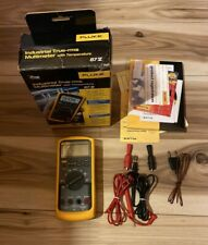 Fluke 87v Industrial True Rms Multimeter With Temperature Free Shipping