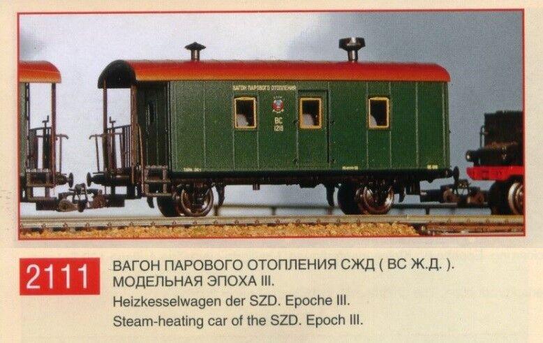 Peresvet 2111 Caldaia Carrello SZD  WS  EP. II-III/Spur TT 1:120