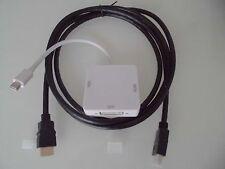 Adapt. 3 en 1 Mini Display Mac vers HDMI - DVI - VGA  + 1 Câble HDMI 2M !!!