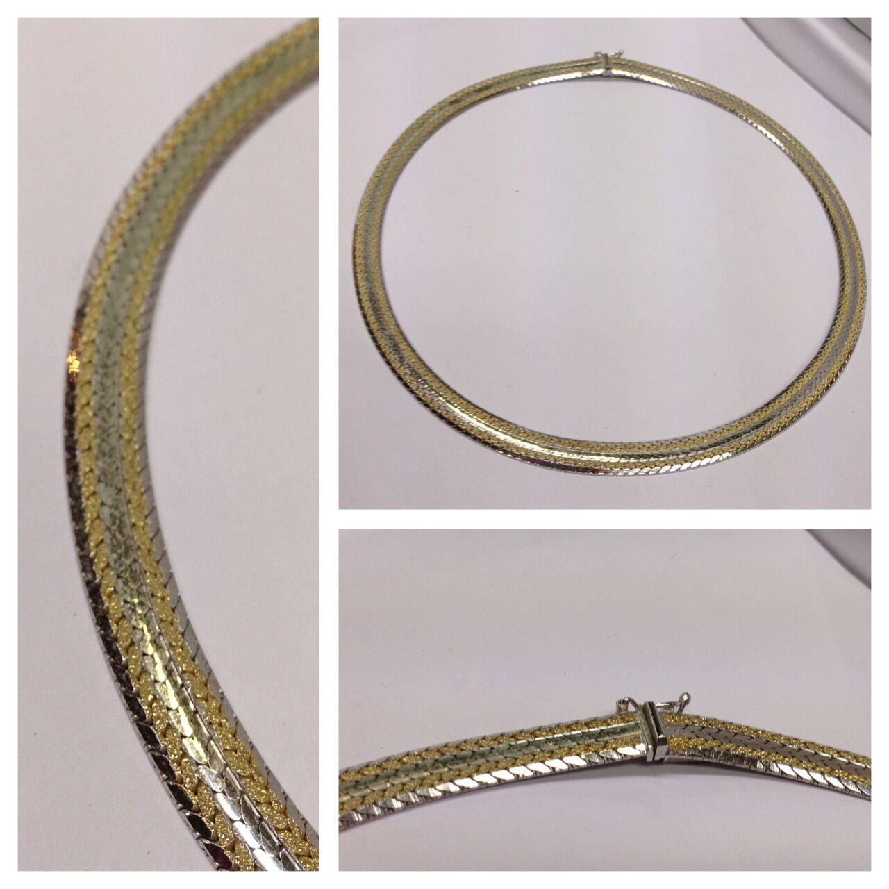 BIcolor Collier 835 Collana in silver accessori bicolorcollier