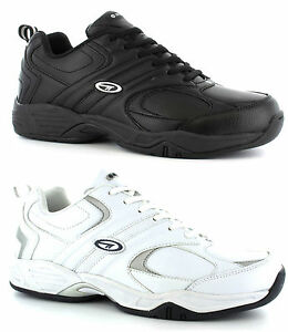 Hi-Tec-Argon-Coated-Leather-Casual-Gym-Sports-Trainers-Mens-UK6-16