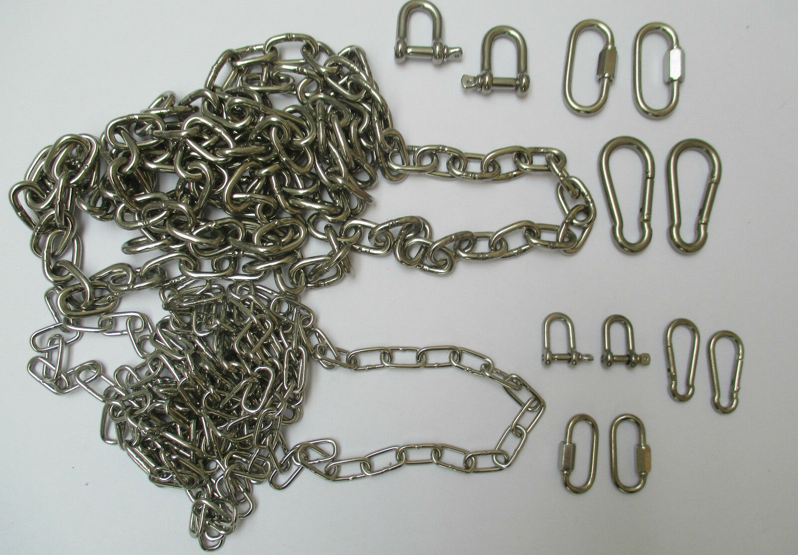 AISI 316  MARINE GRADE STAINLESS STEEL BOAT ANCHOR CHAIN ACCESSORIES