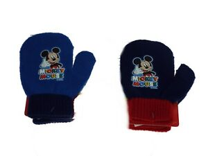 1 paire de moufle enfant, Mickey ,2 coloris aléatoires.