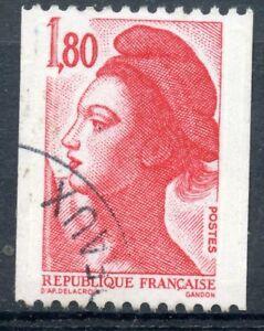 Rationnel Stamp / Timbre Oblitere N° 2223 Liberte Delacroix Roulette