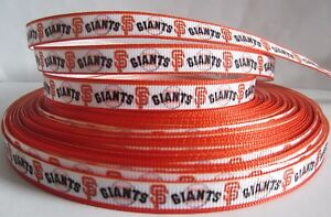 San Francisco Giants Baseball Hair Bow