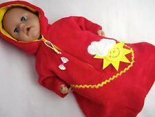 Für Annabell Puppe 46/Chou Chou 46  Schlafsack --Sonne--