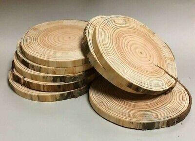 Eiche Holzscheiben Astscheiben Baumscheiben 3 Stk 25-30 cm