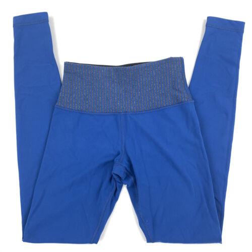 Lululemon size 4 wonder under blue leggings mid ri