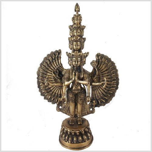 Avalokiteshvara Chenrezig Buddha des Mitgefühls Tara 36cm 3,6kg Mahayana-Buddha