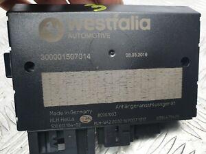 AUDI A3 8V SKODA SEAT VW WESTFALIA TOW BAR CONTROL MODULE ECU 300001507014