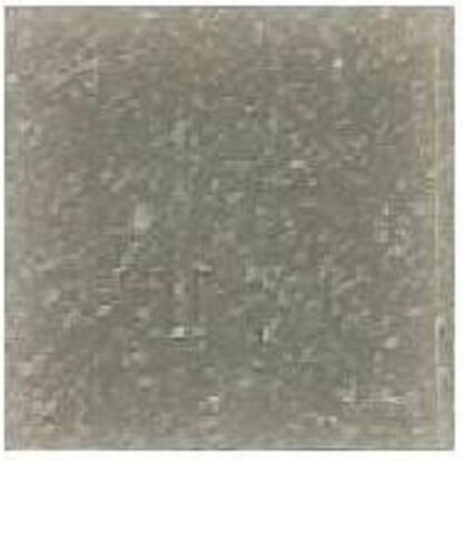3//4 inch PEWTER GRAY Vitreous 25 tiles Glass Mosaic Tiles