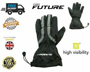 New-100-Waterproof-high-visiblity-Motorbike-Motorcycle-Overmitts-Over-Gloves